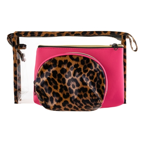 Primary image for Mixed set of Leopard bag