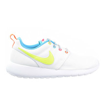 Nike Roshe Run Big Kid (GS) Shoes White-Racer Pink-Fire Pink-Volt 599729-105 - $64.95