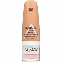 Almay Best Blend Forever Foundation, Sand Beige, 1 fl. oz, SPF 40 Broad Spec--b3 - $8.59