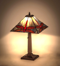 "21""H  Prairie Dragonfly Table Lamp - 26290 - £246.67 GBP"