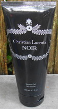 Avon Christian Lacroix Noir Shower Gel 6.7 fl oz New Tube - $12.99