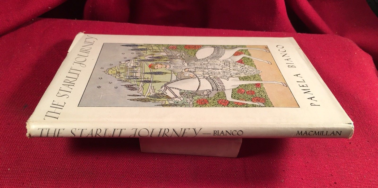 The Starlit Journey by Pamela Bianco 1st Edition in dust jacket