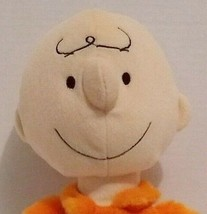 "Kohls Cares Charlie Brown Plush Toy 13"" Peanuts Gang Stuffed Doll Orange... - $15.24"