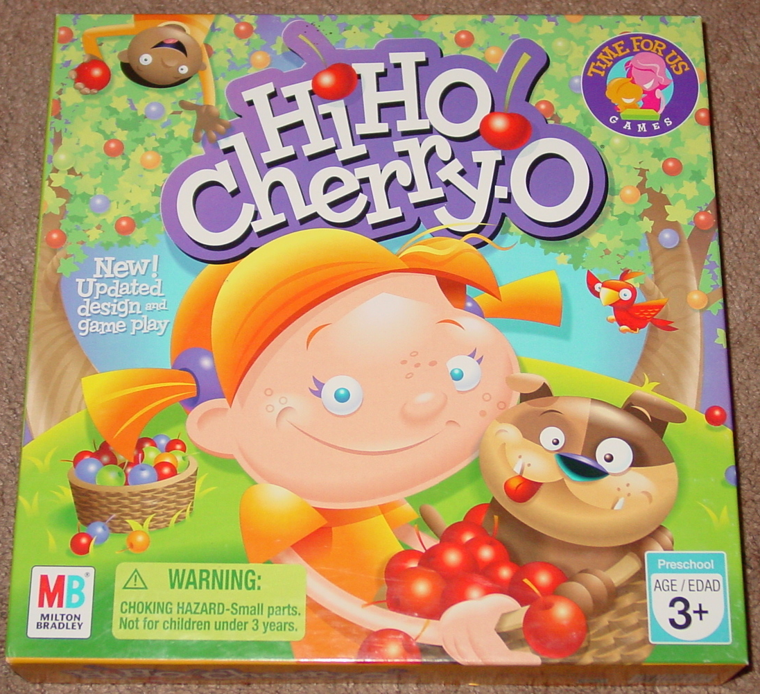 Primary image for HI HO CHERRY O  GAME 2007 MILTON BRADLEY HASBRO #44703 COMPLETE LIGHTLY PLAYED