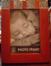 Baby Photo Frame Wooden 3.5 x 5 inch - $8.77