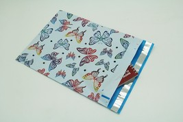 200 Bags 100 10x13 Butterfly, 100 10x13 Blue Hearts Designer Poly Mailer - $18.95