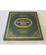 The Basic Library Of The World's Greatest Music No. 22  Record Album  - $5.00