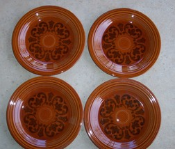 """Fiesta Amberstone Sheffield 10"""" Dinner Plates Vintage 1967' Never been Used - $34.64"""