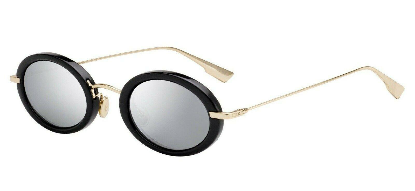 Christian Dior HYPNOTIC 2 Black/Silver Mirrored (2M2/0T) Sunglasses AUTHENTIC - $219.73