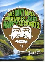 Bob Ross Joy of Painting We Don't Make Mistakes Art Refrigerator Magnet ... - $3.99