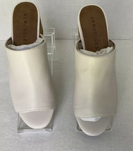 Aerosoles Women's Slide Heeled Rest Comfort Sandals, Bone 101, US Size 9M - $34.65