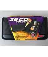 NEW Scosche Sound Kase 36 Disc Folder for CD's and DVD's Black - $23.65