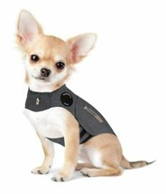ThunderShirt Insanely Calm Dog Anxiety Treatment Shirt Jacket Solid Gray S - $34.21 CAD
