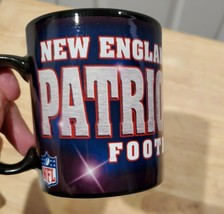 New England Patriots NFL Football Red White & Blue Coffee Mug Cup - $6.89