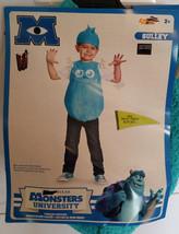 Disney Pixar Monsters University Sulley Costume S/P 2T - $14.84