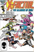X-Factor Comic Book #5 Marvel Comics 1st Apocalypse 1986 VERY FINE NEW U... - $28.94