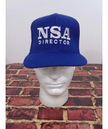 NSA Director Blue Hat Cap One Size FlexFit National Security Agency Coll... - $29.39