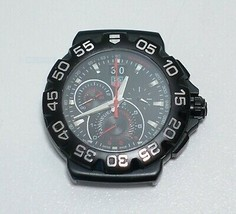 TAG Heuer CAH1012 Formula 1 Chronograph Grande Date Black Dial Quartz Watch - $799.99