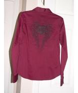 Harley Davidson Burgundy Shirt Size XS - $47.00