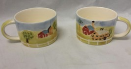 Herman Dodge & Son Coffee Mug: Homestead Collection, Set of 2, Tea Cup F... - $9.74