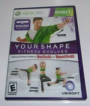 Your Shape: Fitness Evolved (Microsoft Xbox 360, 2010) - $11.66
