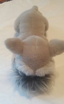 "Russ Berrie Company The Schnauzer Puppy Dog Plush Stuffed Animal 13"" Gray - $10.90"