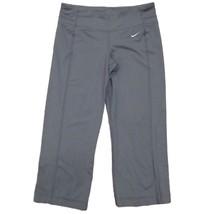Nike Drifit Femmes Gris Entraînement Exercices Athlétique Corsaire Leggings - $12.87