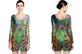 DMT Collection #3 Women's Long Sleeve Bodycon Dress - $25.80+