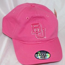 Baylor Bears NCAA Small Fit Epic Hat Cap Adjustable Dark Pink OURAY - $24.74