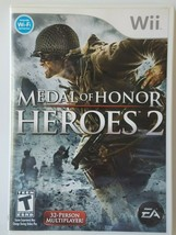 Medal of Honor: Heroes 2 (Nintendo Wii, 2007) Complete Good Condition SH... - $9.89