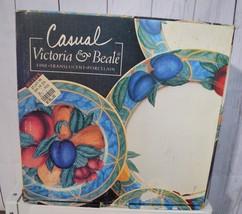 Casual Victoria & Beale Forbidden Frutta 9024 Porcellana 20 Piece Set Pr... - $148.39