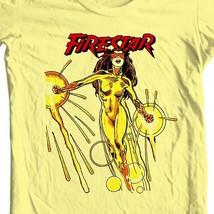 Firestar T-shirt retro Saturday Morning Cartoons superhero comics cotton tee image 1