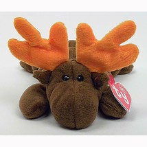 Chocolate The Moose Retired Ty Beanie Baby Mint Condition with Tags - $6.88
