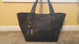 New Marc Jacobs Black Leather Tote Shoulder Bag 495.00 - $186.99