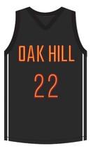 Carmelo Anthony Oak Hill Academy Basketball Jersey Sewn Black Any Size image 4