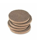 Cat Scratcher Pads Refill Round Scratching Board Best Pet Supplies (Pack... - $21.52