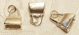 Sterling Silver 3D Pocketbook/Handbag Charm
