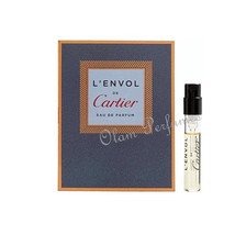 Cartier L'Envol For Men Eau de Parfum Vial Sample Spray 0.05oz 1.5ml - $5.87