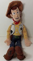 "Disney Store Woody Toy Story Sheriff Stuffed Plush Toy Doll 18"" Display ... - $17.81"