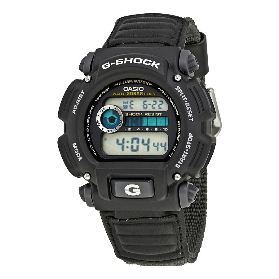 Primary image for Casio DW9052V-1 Men's G-Shock Watch, Grey Nylon Strap