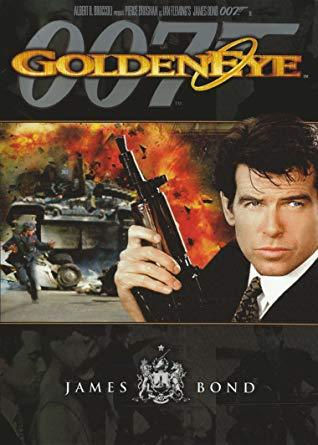 Goldeneye 007 James Bond DVD