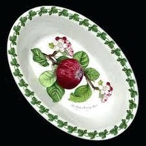 "Portmeirion Pomona SALAD PLATES SET OF 3 MADE IN ENGLAND 8""ASSORTED MOTI... - $219.50"
