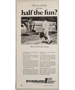 1970 Print Ad Evinrude 6-HP Fisherman Outboard Motors Milwaukee,Wisconsin - $12.85