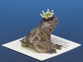 Birthstone Frog Prince Kissing November Citrine Miniatures by Hagen-Renaker image 3
