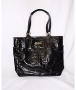 Authentic Coach Tote black patent leather - $49.50