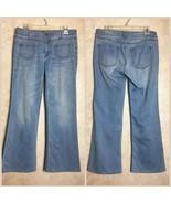 Cabi Size 6 Jeans Malibu Flare Light Wash Blue Denim Style 233S 233 - $38.22