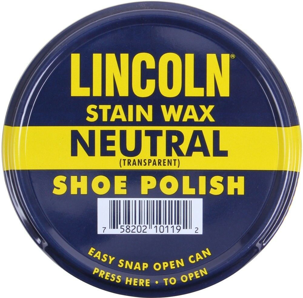 Primary image for Lincoln USMC Neutral Stain Wax Shoe Polish