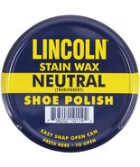 Lincoln USMC Neutral Stain Wax Shoe Polish - $10.99