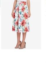 Tahari ASL Women's  Floral-Print Scuba Skirt Size 8  - $19.80
