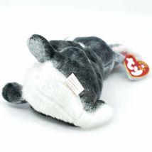 2000 Ty Beanie Baby Hopper the Bunny Rabbit Retired Beanbag Plush Doll Toy image 5